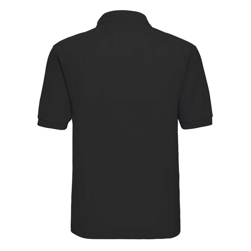 agriland black classic polo shirt agriretailer