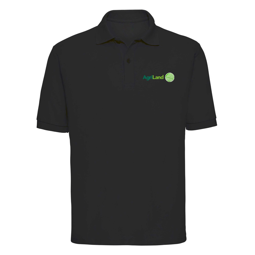 902bee4afdc Agriland Black Classic Polo Shirt - Agriretailer